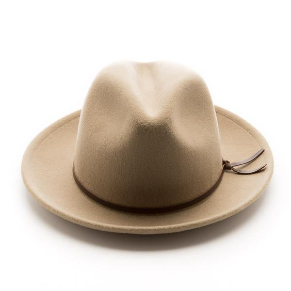 Yellow 108 Luke Fedora | Putty