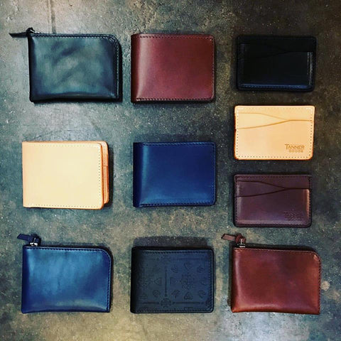 Tanner Goods Utility Bifold Wallet | Natural