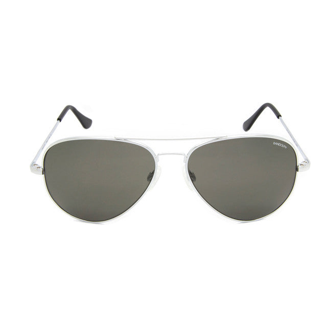 Concorde | Bright Chrome w Gray Polarized Lens