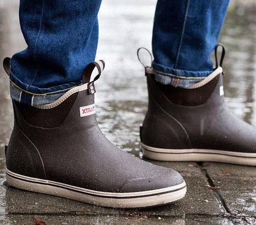 Ankle Deck Boot | Copper
