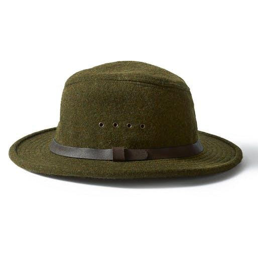 Wool Packer Hat | Forest
