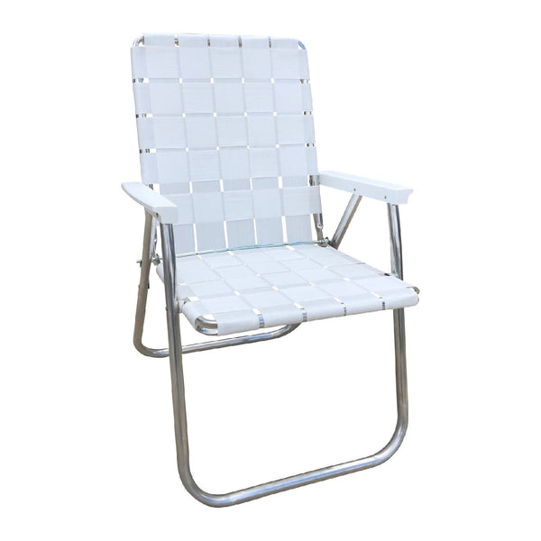 Lawn Chair USA Deluxe White