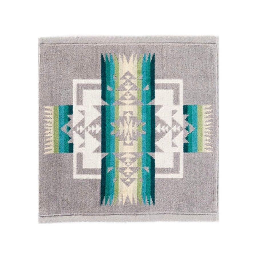 Iconic Jacquard Wash Cloth | Chief Joseph Gray