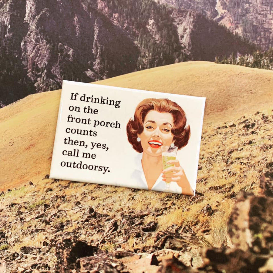 Outdoorsy Magnet
