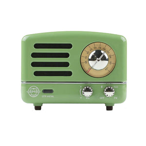 OTR Green Metal Radio Speaker