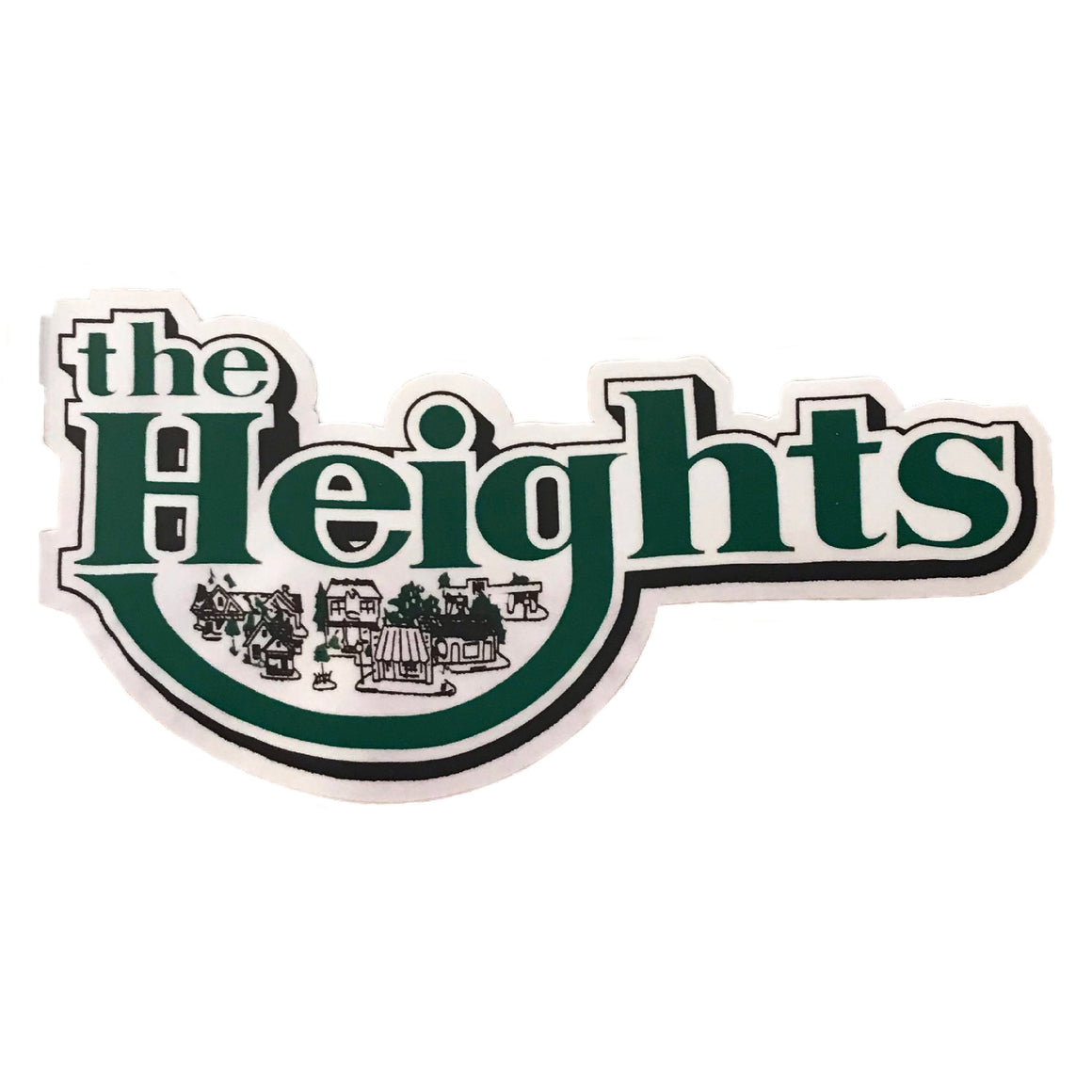 The Heights Sticker