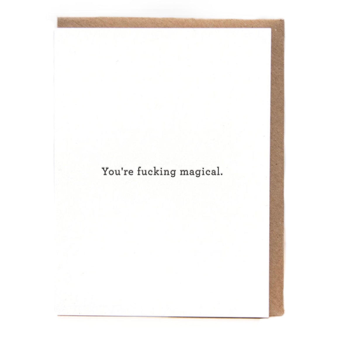 You're F****** Magical Card