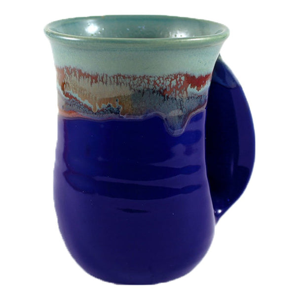 Clay In Motion Handwarmer Mug | Mystic Water