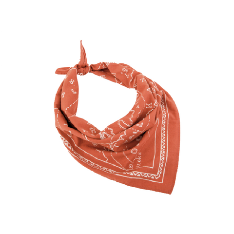 Mollyjogger Ozarks 1900 Bandana | Harvest Orange