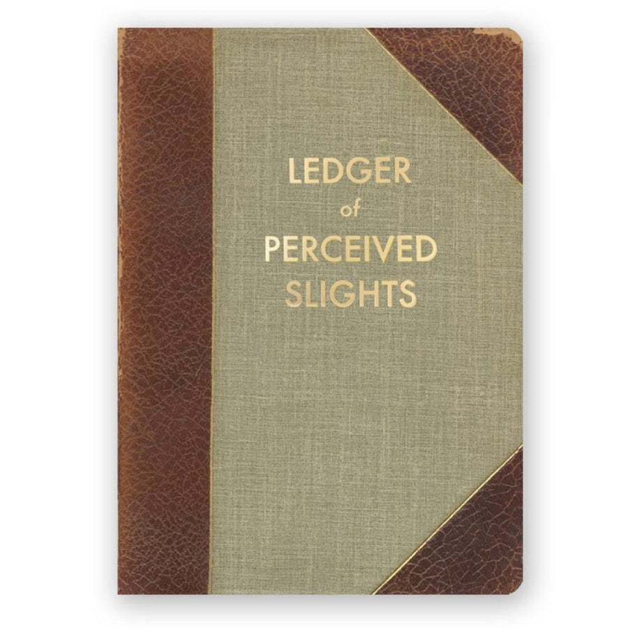 Ledger of Perceived Slights Journal