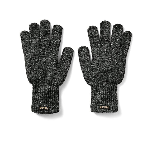 Full Finger Knit Gloves | Charcoal