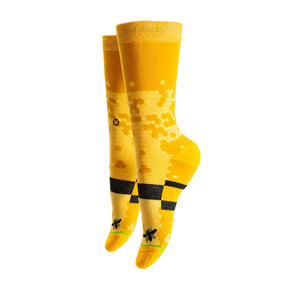 Honey Bee Sock