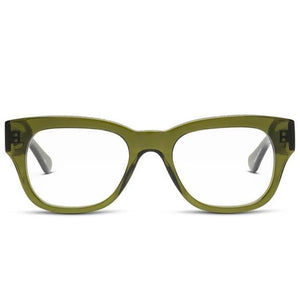 Miklos Reading Glasses | Heritage Green