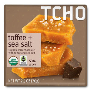 Milk Chocolate Toffee + Sea Salt Bar