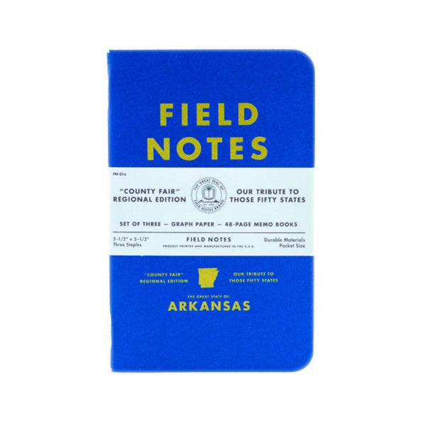 Field Notes Memo Books | Arkansas County Fair