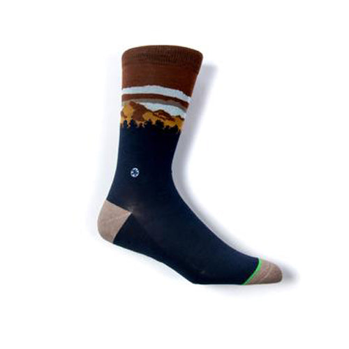 Pinnacle Socks | Navy