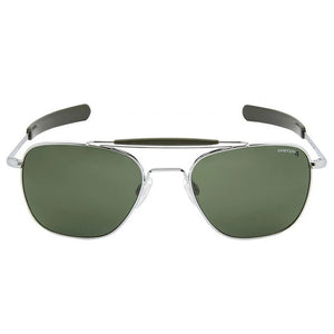 Aviator II | Bright Chrome with Polarized AGX Lens