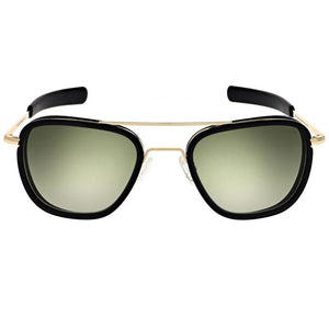 Aviator Fusion | 23K Gold with Evergreen Lens