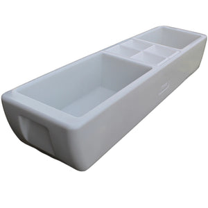 Party Barge Beverage Tub | Pearl White