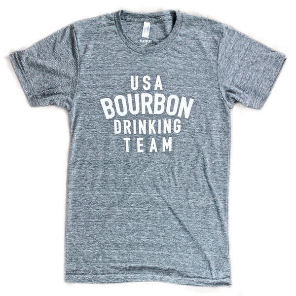 Bourbon Drinking Team Tee