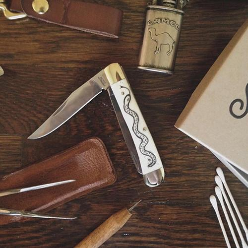 Scrimshaw Knife Kit | Trapper