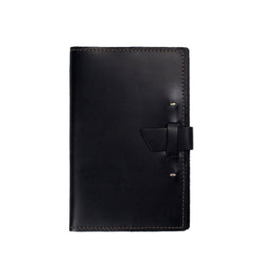 Navigator Leather Notebook | Black