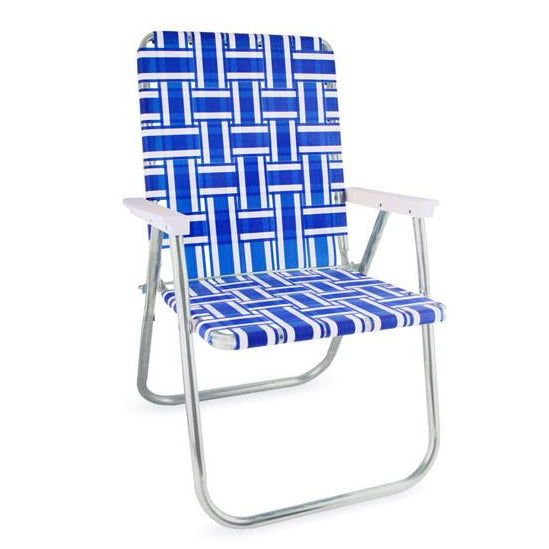 Lawn Chair USA Blue Deluxe