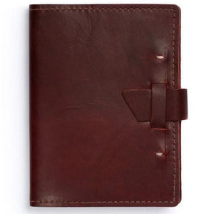 Wasatch Leather Journal | Burgundy