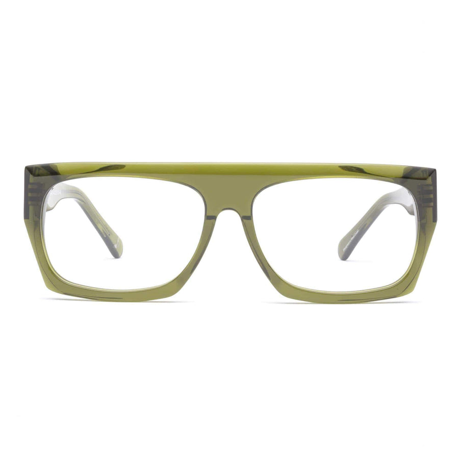 12 Bar Reading Glasses | Heritage Green
