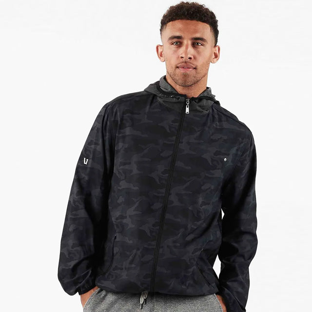 Outdoor Trainer Shell | Black Camo