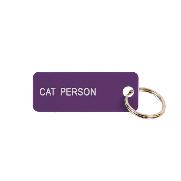 Keytags by Various Projects | Cat Person