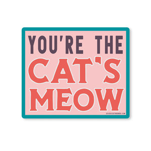 Cat's Meow Sticker