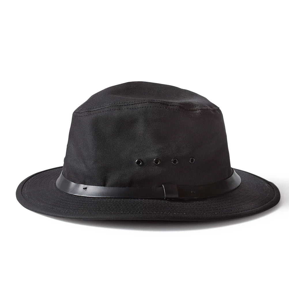 Tin Cloth Packer Hat | Black