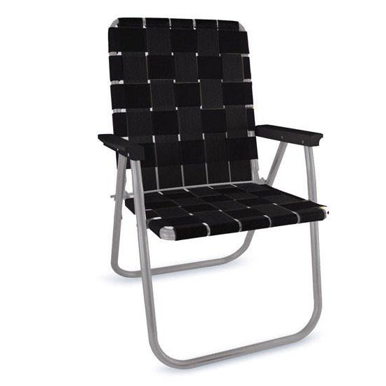 Lawn Chair | Black Deluxe