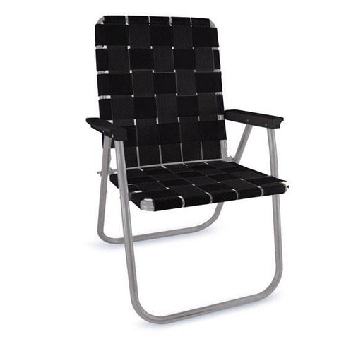 Lawn Chair USA Black Deluxe