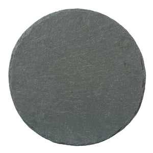 "Charcoal Slate Cheese Server | 11"" Round"
