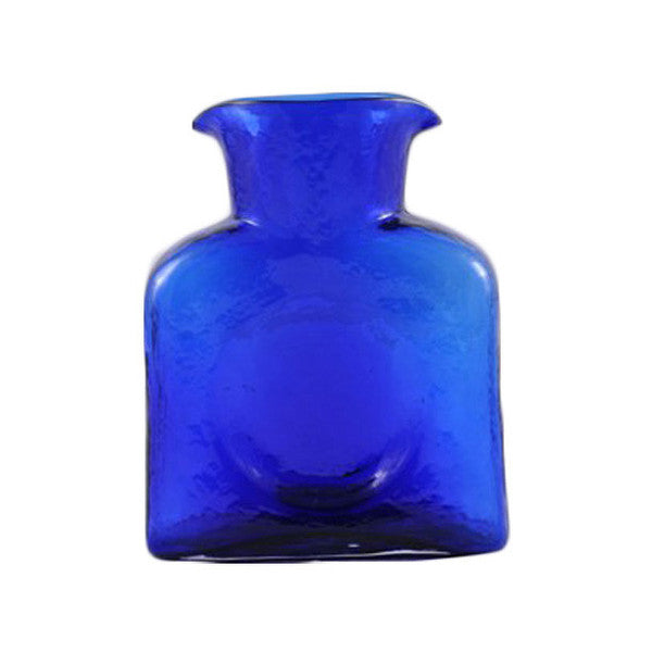 Blenko Glass Water Bottle | Cobalt