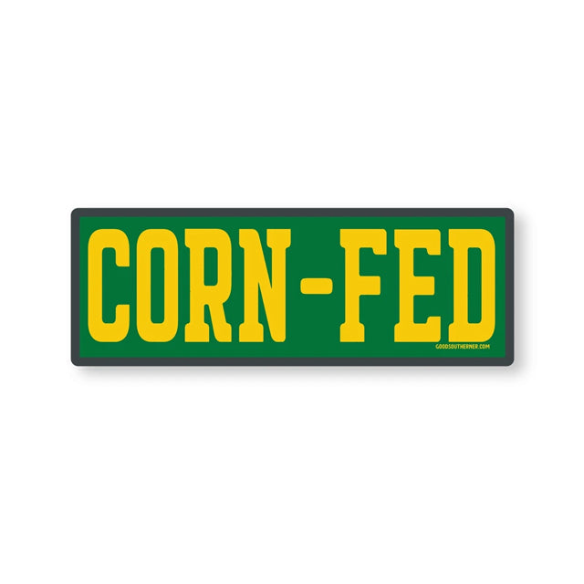Corn-Fed Sticker