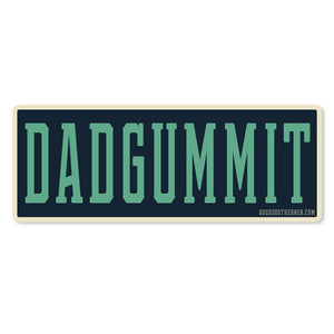 Dadgummit Sticker