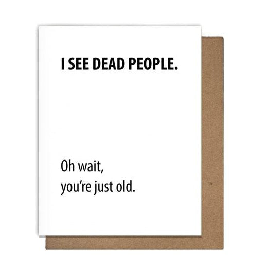 Dead People Card