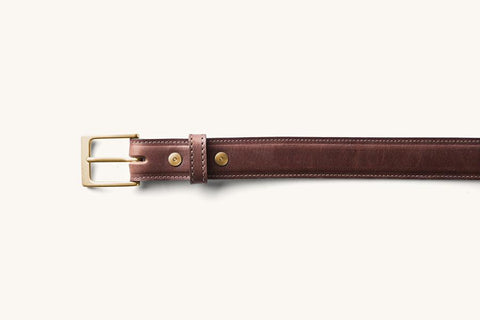 Tanner Goods Dress Belt | Cognac