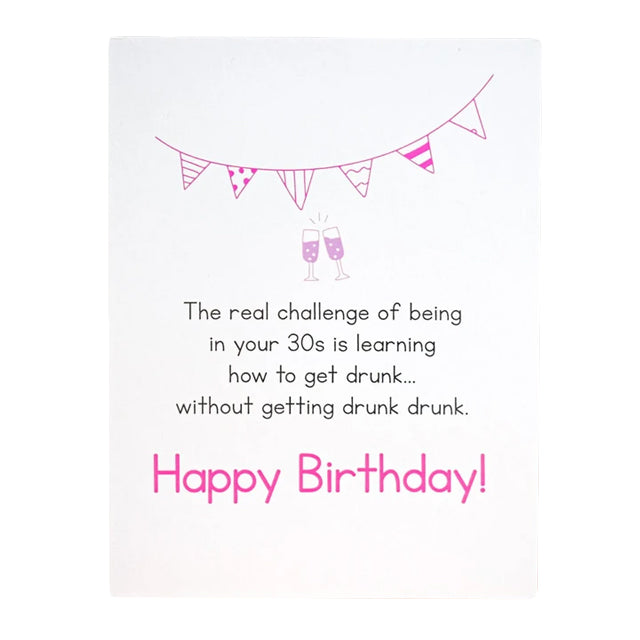 Drunk Drunk Birthday Card