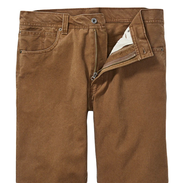 Dry Tin 5 Pocket Pant | Whiskey