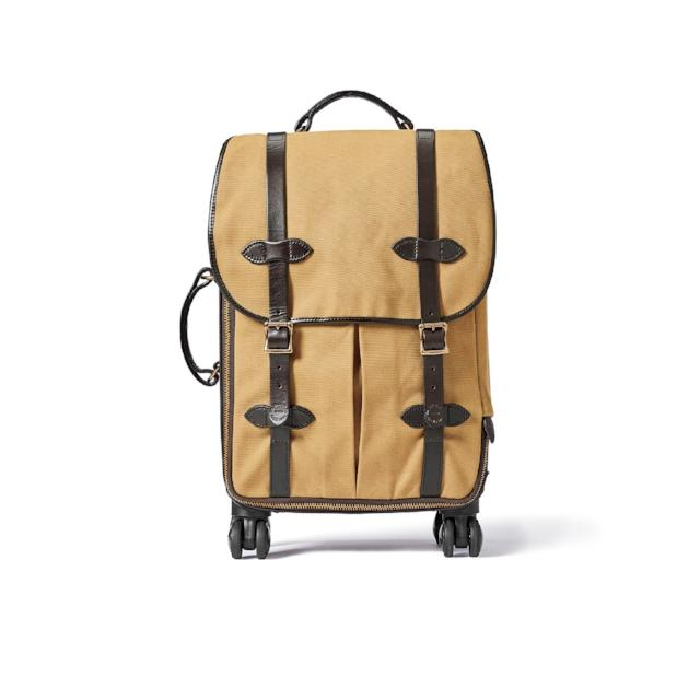 Rolling 4-Wheel Carry On | Tan