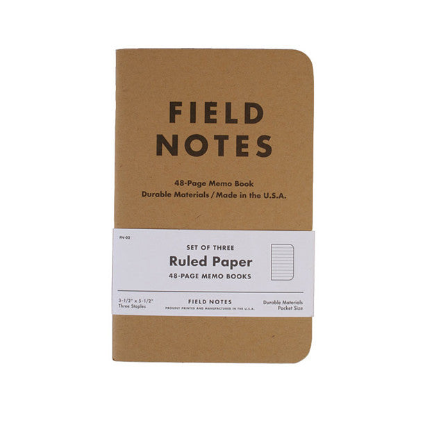 Ruled Memo Book