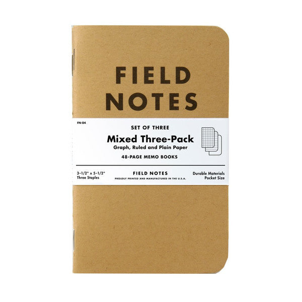 Mixed Memo Book