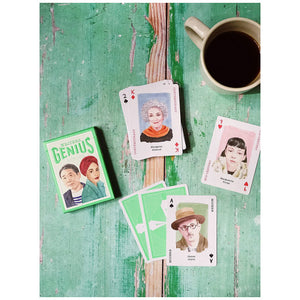 Writing Genius Playing Cards