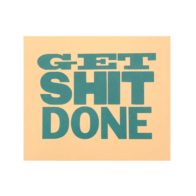 Cindy Feltus Get Shit Done Poster