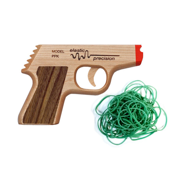 Elastic Precision Rubber Band Gun