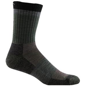 Heady Stripe Micro Crew Lightweight Sock | Fatigue